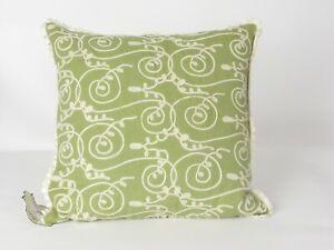 Sferra 1891 MONMARTE Navire Grass Deco Pillow NWT