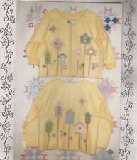 Craft Pattern-Becky's Ivy Cottage-Inside Out Sweatshirt Birdhouse Jacket