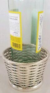 Vintage Gorham Silverplate Wine Bottle Holder / Basket YC120