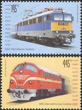 Hungary 2013 Locomotives/Diesel/Trains/Rail/Railways/Transport 2v set (n45112)