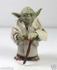 12cm Star Wars Yoda with Cane Action Figure Loose Jedi Knight Attack Statue Toys