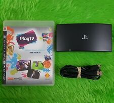 ps3 PLAY TV Disc + Tuner Freeview TV on your PS3!! Watch, Pause, Record, View
