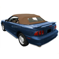 Ford Mustang Convertible Top 1994-2004 Saddle Sailcloth with Heated Glass Window