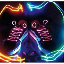 LACETS CLIGNOTANTS NEON LAMPE LED ROSE BASKETS CHAUSSURES SAC