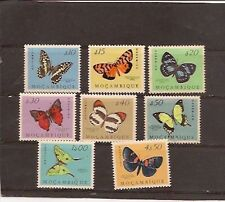Mozambique 1953 BORBOLETAS- MNH set- Beautiful