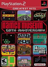 Namco Museum 50th Anniversary PS2 14 Arcade Games Pac-Man  Galaga New and Sealed