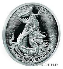 "2017 Silver Shield DOLLAR DRAGON Proof - #3 in ""Death of the Dollar"" Series"