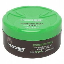 MooseHead Forming Wax 100g - With A High Shine For All Hair Types Moose Head