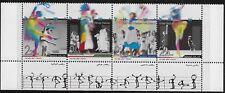 Israel Scott #1687, Tab Strip 2007 Complete FVF MNH