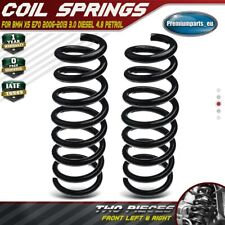2x New Coil Springs Front Suspension for BMW X5 E70 2006-2013 3.0 4.8 RA1127