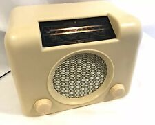 Vintage 1950s Cream Bakelite Bush DAC90A Radio Active Bluetooth Speaker Working