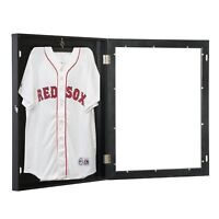 HOMCOM Wood Jersey Display Case Frame Shadow Box Football Baseball