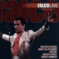 "FALCO ""LIVE FOREVER"" CD NEW"
