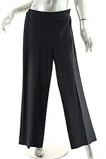 AKRIS Charcoal Wool Stretch Flannel Clean Front Pant w/Side Zip - US4/F36/D34