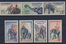 Laos 74/80 postfrisch / Elefanten (6335) .......................................