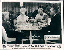 LOVE IN A GOLDFISH BOWL TOMMY SANDS JAN STERLING ORIGINAL LOBBY CARD