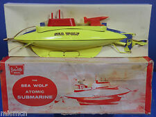 "VINTAGE SUTCLIFFE MODEL'S  No.XXX   ""SEA WOLF""  ATOMIC SUBMARINE   VN MIB"