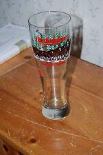 Budweiser Christmas Clydesdale Tall Pilsner Glass
