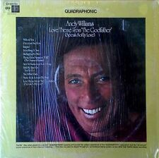 ANDY WILLIAMS - LOVE THEME FROM GODFATHER  - QUADRAPHONIC LP - SHRINK WRAP