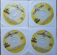 4 CDG KARAOKE DISCS 1980'S-1990'S MEGAPOP HITS SUPERCORE - FUGEES MUSIC CD+G