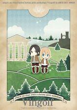 Attack on Titan Girls' Love Doujinshi, Ymir x Historia(Krista), 102-page!!