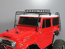 Metal Windshield Protector + Roof Rack + Stair for Tamiya 1/10 Land Cruiser 40