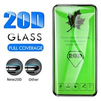 Cg_ 1PC 20D Curved Tempered Glass Screen Full Cover Protectors for iPhone 11 Pro