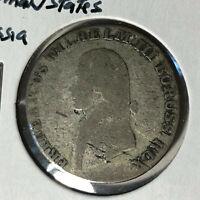 1803-A German State Prussia 4 Groschen Silver Coin