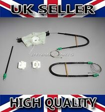 VW GOLF MK4 ELECTRIC WINDOW REGULATOR REPAIR KIT SET FRONT LEFT (NSF)