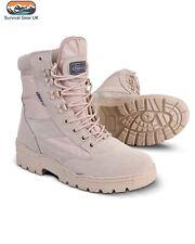 Desert Army Combat Patrol Boots Tactical Military Work Tan Jungle