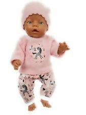 Kleidung passend f. Baby Born Krümel JAKO-O Puppen 42 43 cm Einhorn 30