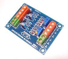 Passive Stereo VU Meter DB Audio Level Meter Driver Board Power Amplifier