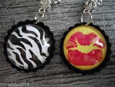 Animals Insects Round Statement Costume Necklaces & Pendants