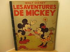 Walt Disney Les aventures de Mickey Hachette 1948