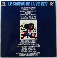 MIRO (33T) CADEAU DE LA VIE 1977 - DALIDA BECAUD PEYRAC CLERC CROISILLE DUMONT