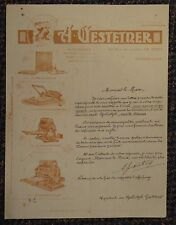 c1907 Gestetner Cyclostyle copying machine advertising letterhead