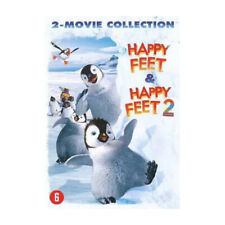 Happy Feet 1 and 2 DVD Family Kids Movie