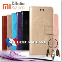 Etui Folio coque housse Chouette Dreamcatcher Owl case cover XIAOMI (All models)