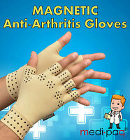 Medipaq® Magnetic Arthritis Compression Therapy Gloves Rheumatoid Pain Relief