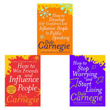 Dale Carnegie Collection 3 Books Set How to Win Friends and Influence People NEW