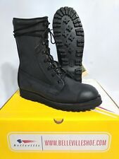 NIB Belleville Black Leather ICW Goretex Tactical MILITARY COMBAT Boots 8 R