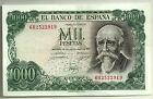 BILLETE DE 1000 PESETAS DE 1971 (EBC-) ECHEGARAY (SERIE 6B)