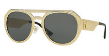 Versace METAL MESH VE 2175 gold/dark grey (1002/87) Sunglasses