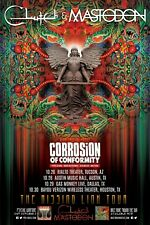 """CLUTCH /MASTODON/CORROSION OF CONFORMITY """"MISSING LINK TOUR"""" 2015 CONCERT POSTER"""