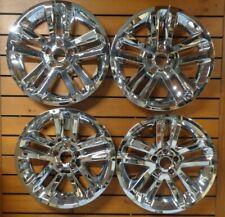 """New Set of 4 2011-2017 Ford Explorer 18"""" Chrome Wheel Skins 3859"""