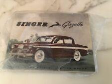 Singer Gazelle NOS set of 15 vintage brochures never touched except 1 for pic