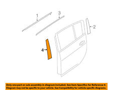 NISSAN OEM 11-12 Leaf Exterior-Rear-Applique Window Trim Left 822D33NA0A
