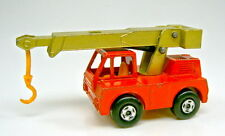 Matchbox Superfast Nr. 42A Iron Fairy Crane orange & grünmetallic