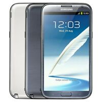 """BOX Original Samsung Galaxy Note 2 Dual SIM N7102 Unlocked 16GB 3G 5.5"""" WIFI 8MP"""