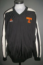 University of Tennessee TN UT VOLS ADIDAS Jacket Sz XL Black Lined Nylon Jacket